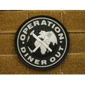 JTG OPRTSTION DINER OUT PATCH SWAT 3D RUBBER
