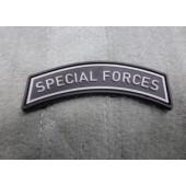 JTG SPECIAL FORCES TAB PATCH SWAT 3D RUBBER