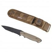 EMERSON GEAR EM3330B DUMMY BC STYLE 141 KNIFE + CLOTH COVER COYOTE