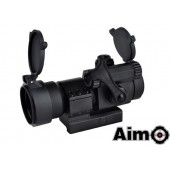 AIM-O AIMPOINT M2 RED/GREEN DOT WITH L SHAPE MOUNT BLACK