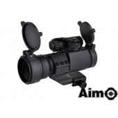 AIM-O AIMPOINT M2 RED/GREEN DOT WITH CANTILEVER MOUNT BLACK