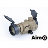 AIM-O AIMPOINT M3 RED/GREEN DOT WITH SHAPED MOUNT DESERT