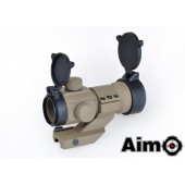 AIM-O AIMPOINT M3 RED/GREEN DOT WITH CANTILEVER MOUNT DESERT