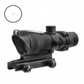 AIM-O ACOG RED DOT 1X32C WITH ILUMIATION SOURCE FIBER