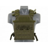 8FIELDS ASSAULT PLATE CARRIER WITH DUMMY SAPI PLATES - OLIVE