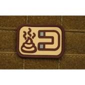 JTG - SHIT MAGNET PATCH DESERT / 3D RUBBER