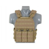 8FIELDS FIRST DEFENSE PLATE CARRIER COYOTE