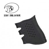 BIGDRAGON GLOCK RUBBER GRIP BLACK