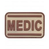 ACM PATCH PVC MEDIC TAN