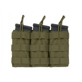 8FIELDS MODULAR OPEN TOP TRIPLE MAG POUCH FOR 5.56 - OD