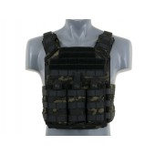 8FIELDS FIRST RESPONDER PLATE CARRIER WITH DUMMY SAPI PLATES MULTICAM BLACK