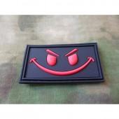 JTG EVIL SMILEY PATCH BLACKMEDIC 3D RUBBER