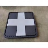 JTG REDCROSS MEDIC PATCH SEAT 3D RUBBER