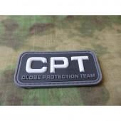 JTG CLOSE PROTECTION TEAM PATCH SWAT 3D RUBBER