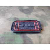 JTG WALHALLA TICKET PATCH BLACKOPS 3D RUBBER