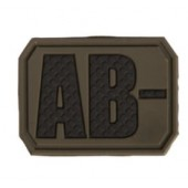 MILTEC OD 3D BLOOD TYPE PATCH AB-