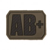 MILTEC OD 3D BLOOD TYPE PATCH AB+