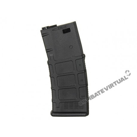 CASTELLAN 120RD POLYMER MID-CAP MAGAZINE FOR M4/AR-15 SERIES - BLACK
