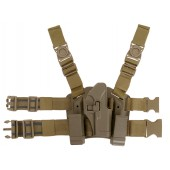 CS HOLSTER W/DROP LEG PLATFORM FOR G. SERIES - TAN