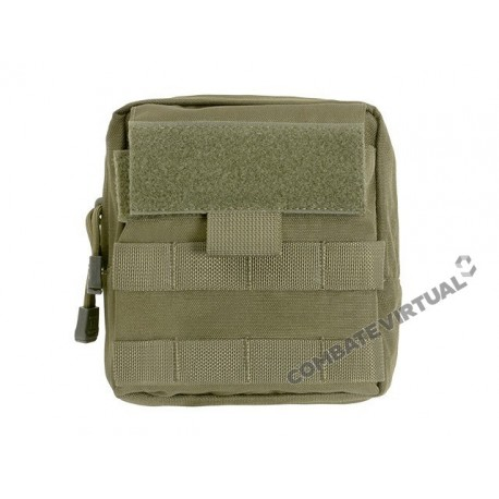 8FIELDS LARGE-CAPACITY GP ADMIN POUCH - OD