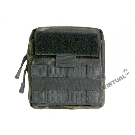 8FIELDS LARGE-CAPACITY GP ADMIN POUCH - MULTICAM BLACK