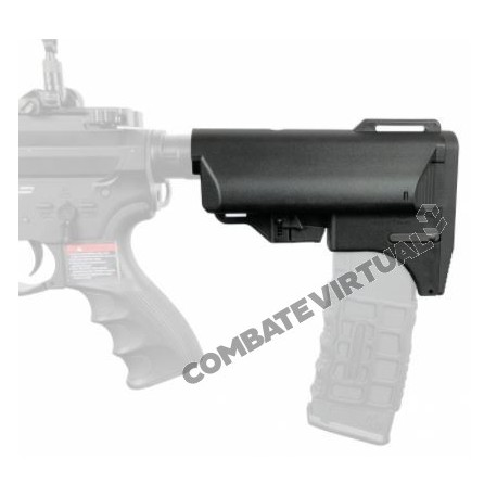 SLONG RETRACTABLE MAGAZINE BUTT STOCK BLACK