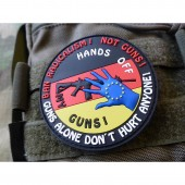 JTG HANDS OFF MY GUN DEUTSCHLAND PATCH FULLCOLOR JTG 3D RUBBER PATCH