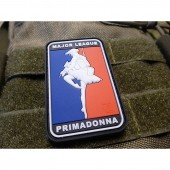 JTG MAJOR LEAGUE PRIMADONNA PATCH FULLCOLOR 3D RUBBER