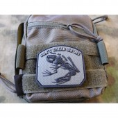 JTG DON´T TREAD ON ME FROG PATCH RANGER GREEN 3D RUBBER