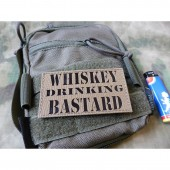 JTG WHISKEY PASSION PATCH COYOTE BROWN INFRARED CORDURA LASERCUT