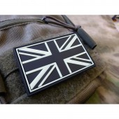 JTG UK FLAG PATCH GID (GLOW IN THE DARK) 3D RUBBER