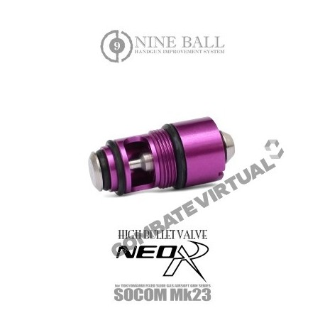 "NINE BALL MARUI SOCOM MK. 23 HIGH BULLET VALVE NEO ""R"""