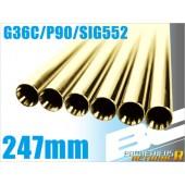 PROMETHEUS BRIGHT BARREL G36C/P90/SIG552 6.05MM (247MM)