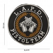ACM PATCH PVC L.A.P.D. PISTOL TEAM