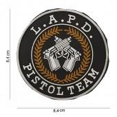 ACM PATCH PVC L.A.P.D. PISTOL TEAM