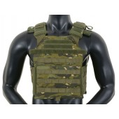 8FIELDS ASSAULT PLATE CARRIER CUMMERBUND - MULTICAM TROPIC