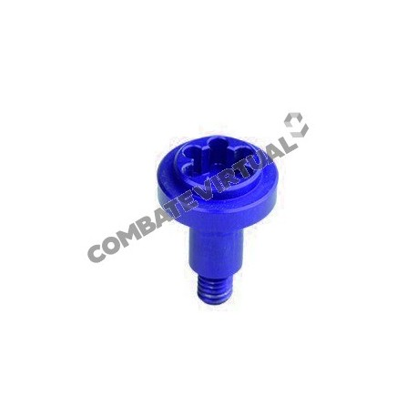 RETRO ARMS CNC FIRE SELECTOR SCREW AK - A BLUE