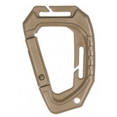 MILTEC TACTICAL CARABINER MOLLE (2 PCS./BLISTER) COYOTE