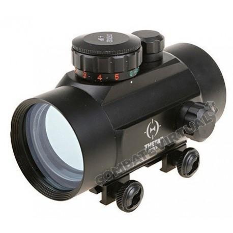 THETA OPTICS RED DOT 1X40 REFLEX SIGHT REPLICA - BLACK