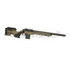 ACTION ARMY AAC T10 BOLT ACTION SNIPER RIFLE - DARK EARTH