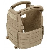 WARRIOR DCS SPECIAL FORCES PLATE CARRIER BASE (MEDIUM) - COYOTE TAN