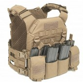 WARRIOR RECON PLATE CARRIER WITH PATHFINDER CHEST RIG (MEDIUM) - COYOTE TAN