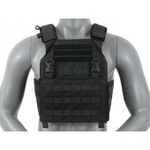 8FIELDS BUCKLE UP ASSAULT PLATE CARRIER W/ CUMMBERBUND - BLACK