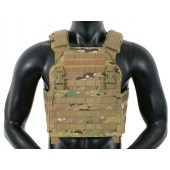 8FIELDS BUCKLE UP ASSAULT PLATE CARRIER W/ CUMMBERBUND - MULTICAM
