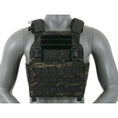 8FIELDS BUCKLE UP ASSAULT PLATE CARRIER W/ CUMMERBUND - MULTICAM BLACK