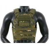 8FIELDS BUCKLE UP ASSAULT PLATE CARRIER W/ CUMMERBUND - MULTICAM TROPIC