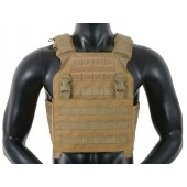 8FIELDS BUCKLE UP ASSAULT PLATE CARRIER W/ CUMMERBUND - COYOTE