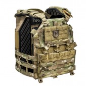 HUSAR NOBLE GEN 3 PLATE CARRIER (MEDIUM) - MULTICAM