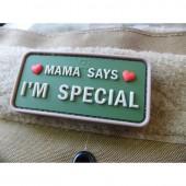 "JTG ""MAMA SAYS I'M SPECIAL"" PATCH - MULTICAM/3D RUBBER"