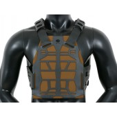 EMERSON FRAME PLATE CARRIER - BLACK